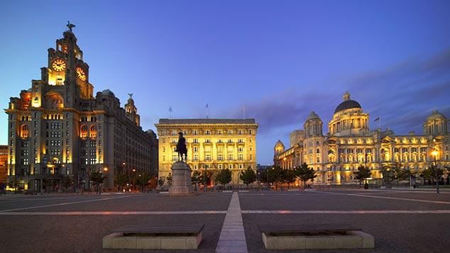 Cidades Da Inglaterra Liverpool Terra Natal Dos Beatles